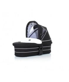 ABC Люлька для коляски  ZOOM White-black черный с белым