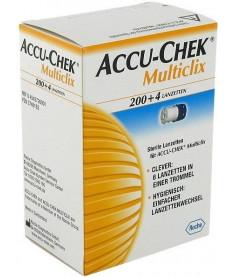 Accu-Chek Multiclix Ланцеты 200+4 шт