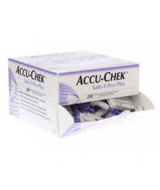 Accu-Chek Safe-T-Pro Plus Система для прокалывания 200 шт