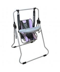 Adbor 1  (фиолетовый с серым) Качели