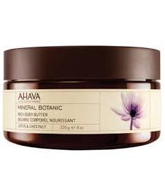 AHAVA Масло для тела лотос/сладкий каштан 235мл