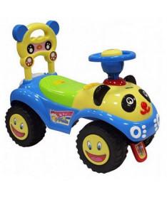 Alexis-Babymix 7601 (blue)  Машинка-каталка
