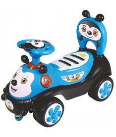 Alexis-Babymix 7625 (blue)  Машинка-каталка