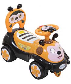 Alexis-Babymix 7625 (yellow) Машинка-каталка
