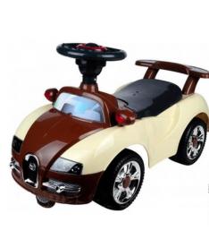 Alexis-Babymix 7628 (brown-beige) Машинка-каталка