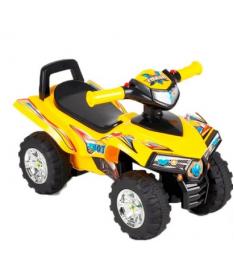 Alexis-Babymix HZ-551 (yellow) Машинка-каталка