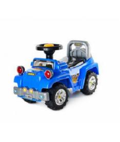 Alexis-Babymix HZ-553 (blue) Машинка-каталка