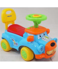 Alexis-Babymix HZ-554 (blue)  Машинка-каталка