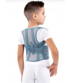 Алком 1030 Корсет для коррекции осанки детский( белый , черный )