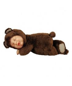 ANNE GEDDES - ШОКОЛАДНЫЙ МЕДВЕЖОНОК (23 см) Кукла-младенец