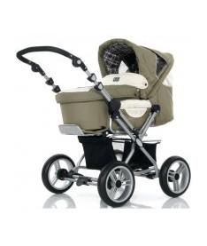 АВС Универсальная коляска 2 в 1 &ampquotPRAMY LUXE Ranger оливковый з бежевым