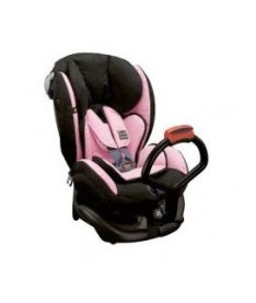 Автокресло BabySafe IZI KID, pink/black