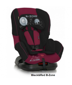 Автокресло Bertoni CONCORD, black and red b-zone