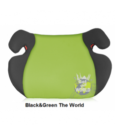 Автокресло Bertoni EASY, black and green get the world