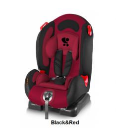 Автокресло Bertoni F-1, black and red