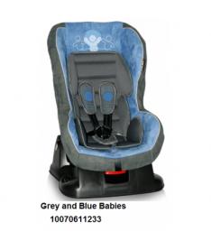Автокресло Bertoni GRAND PRIX, grey and blue babies