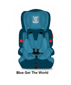 Автокресло Bertoni KIDDY, blue get the world