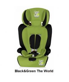 Автокресло Bertoni MARANELLO+, black and green