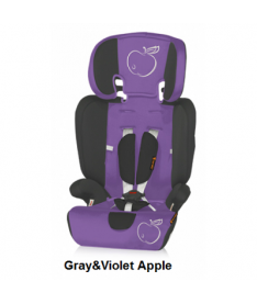 Автокресло Bertoni MARANELLO, gray and violet apple