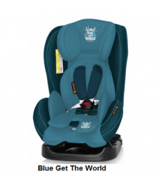 Автокресло Bertoni MONDEO, blue get the world