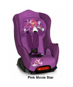Автокресло Bertoni PILOT+, pink movie star