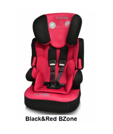 Автокресло Bertoni X-DRIVE+, black and red b-zone