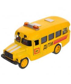 Автомодель Технопарк Детский автобус КАВЗ (свет, звук) (CT10-069-5)