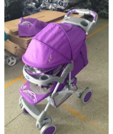 Bambini KING ЧЕХОЛ (violet butterfly) Коляска