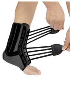 Бандаж на голеностопный сустав со спиральными ребрами жесткости WH-917 Ortop (Тайвань)