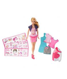 BARBIE Барби Набор Студия дизайна одежды обновл.