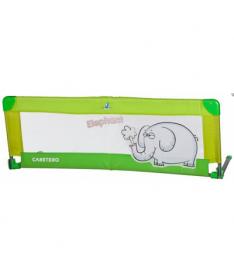 Барьер для кроватки Caretero (green)