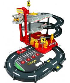 Bburago ГАРАЖ FERRARI (3 уровня,2 машинки 1:43) Автомобильный игровой набор