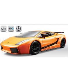 Bburago LAMBORGHINI GALLARDO SUPERLEGERRA 2007 (оранжевый металлик,1:24) Авто-конструктор (1:24)