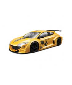Bburago RENAULT MEGANE TROPHY (желтый металлик,1:24) Авто-конструктор (1:24)