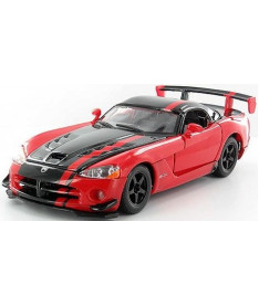 BburagoBijoux DODGE VIPER SRT10 ACR (ассорти оранж-черн,красн-черн металл) Автомодель (1:24)