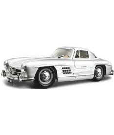 BburagoBijoux MERCEDES-BENZ 300 SL (1954) (ассорти красный,серебристый,1:24) Автомодель (1:24)