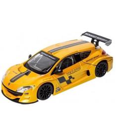 BburagoBijoux RENAULT MEGANE TROPHY (желтый металлик,1:24) Автомодель (1:24)