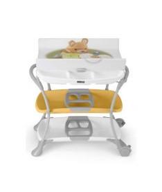 CAM Пеленальный столик NUVOLA белый с бежевым