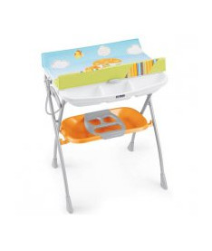CAM Столик для пеленания VOLARE оранжевый с рисунком
