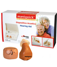 Cлуховой аппарат Maniquick MQ640 Hearing Aid Dual Unit, Швейцария