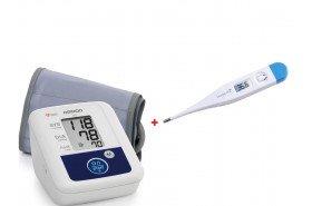 Термометр в подарок при покупке тонометров ТМ Omron!