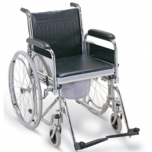 Фото: Инвалидная коляска с судном FS681 (Китай) - изображение 2