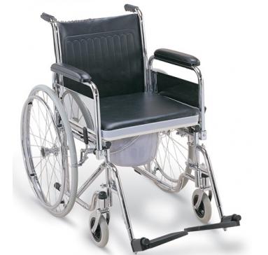 Инвалидная коляска с судном FS681 (Китай)