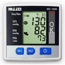 Фото: Тонометр автоматический на запястье Nissei WS-1000 (Япония) - изображение 2