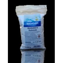 Фото: Органическое кислородное средство-запаска Sodasan для отбеливания и удаления стойких загрязнений, 500г - изображение 1