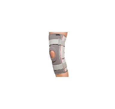 Артикул 7159. REHBAND. Наколенник с боковыми шинами (алюминий) и шарниром. (Швеция)