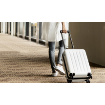 "Фото: Чемодан RunMi 90 Points suitcase Moonlight White 28"" - изображение 6"