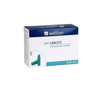 Ланцеты Wellion 28G (200 шт)