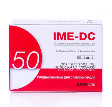 Тест-полоски IME-DC к базовому глюкометру, 50 штук