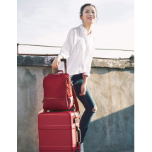 Фото: Рюкзак RunMi 90GOFUN Fashion city Lingge shoulder bag Red - изображение 12